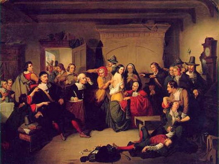 the persecutions of people on the 1600s the salem witch hunting