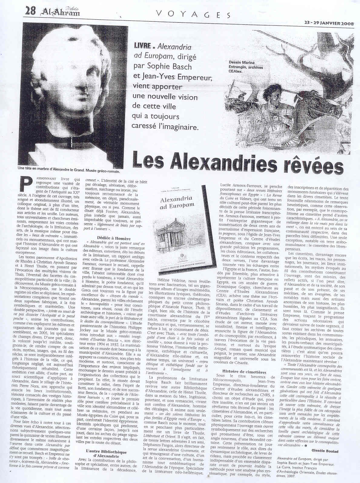 Les Alexandries Revees