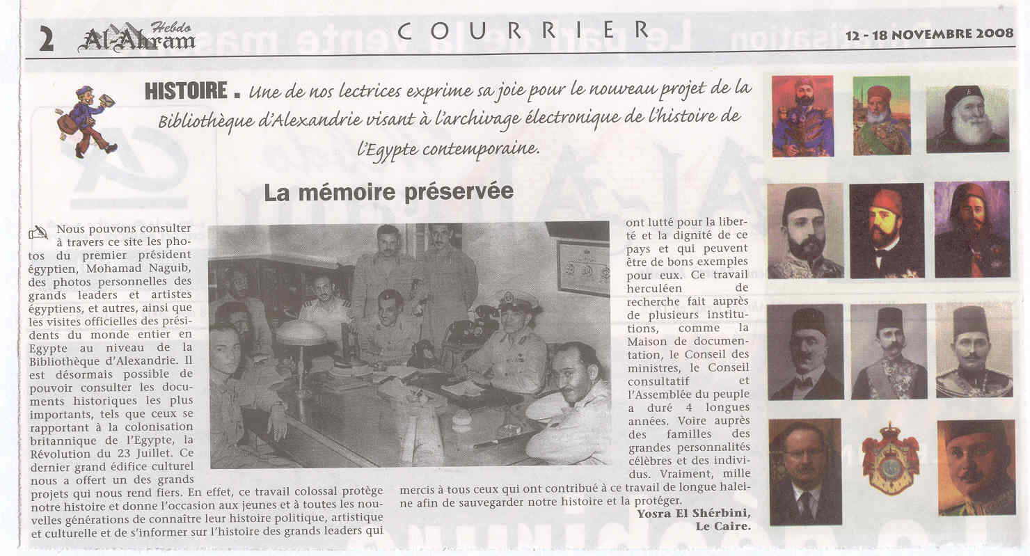 LA MEMOIRE PRESERVEE