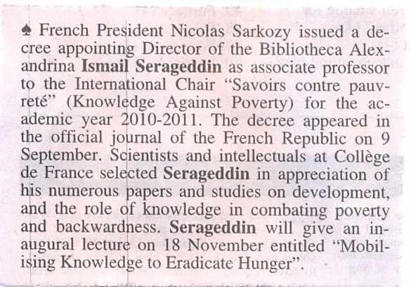 savoirs contre pauvrete.....