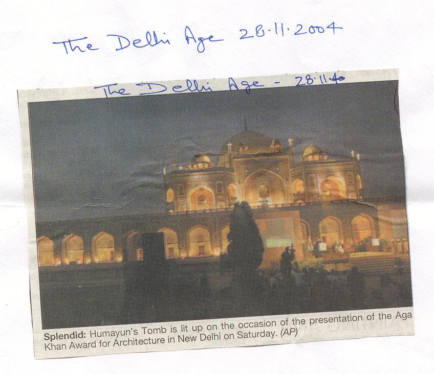 the delhi age