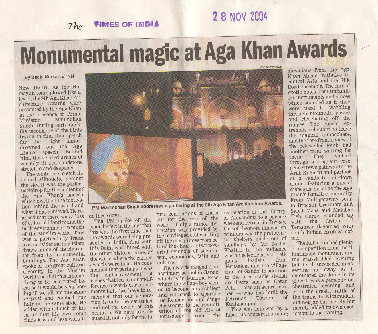 monumental magic at aga khan awards