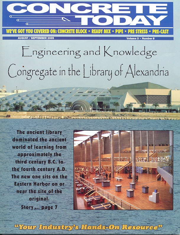 Engineering and Knowledge Congregate in the Library of Alexandria 1