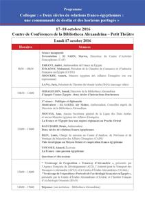 Le programme du Colloque