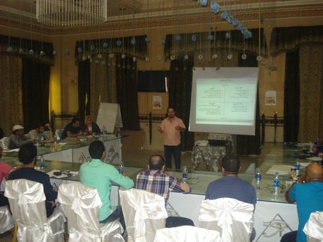 Building Perceptions and Developing Capacities in the Egyptian Cultural Fields - The 1st Workshop (Minya)