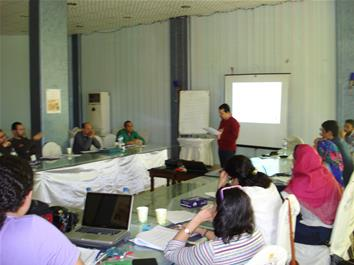 Building Perceptions and Developing Capacities in the Egyptian Cultural Fields - The 3rd Workshop (Fayoum)