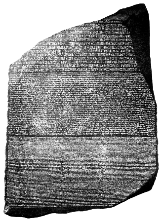 The Rosetta Stone and Ancient Egyptian