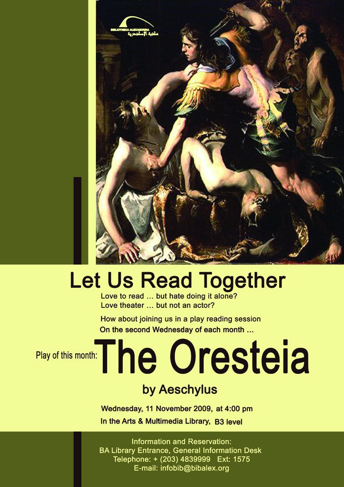 oresteia essays In their introduction of aeschylus' 'the oresteia', robert fagles and wb stanford include er dodds' assertion that ancient mythology reflected the 'pathology of a.