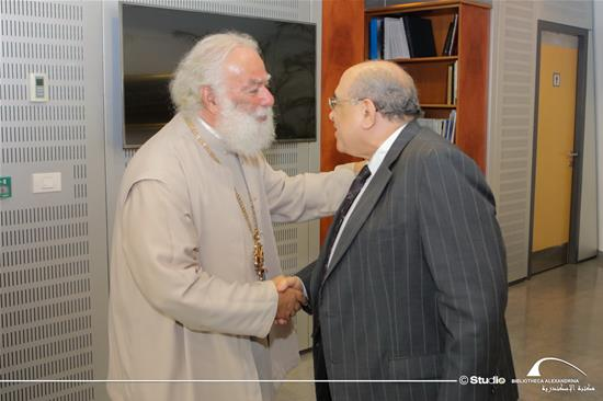 The Visit of His Beatitude Pope Theodoros II to the BA - 17 July 2019