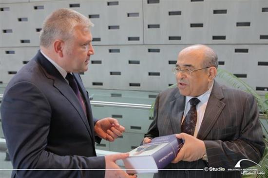 زيارة سفير أرمينيا لمكتبة الإسكندرية - 17 يوليو 2019