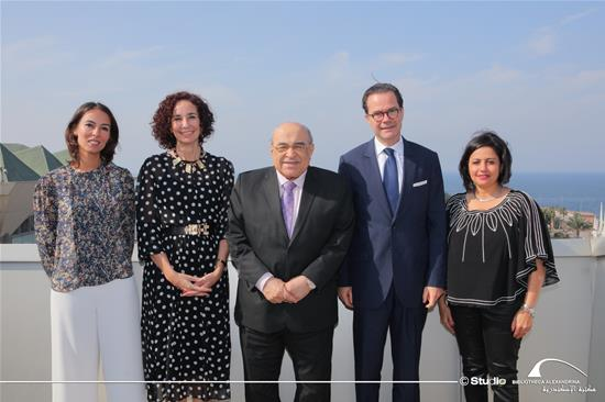The BA Visit of Mr. Stéphane Romatet, the French Ambassador to Egypt - 13 November 2019