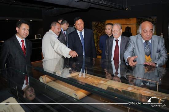 زيارة وفد قضاة من الصين مع عدد من كبار رجال القضاء المصري لمكتبة الإسكندرية - 26 نوفمبر 2019