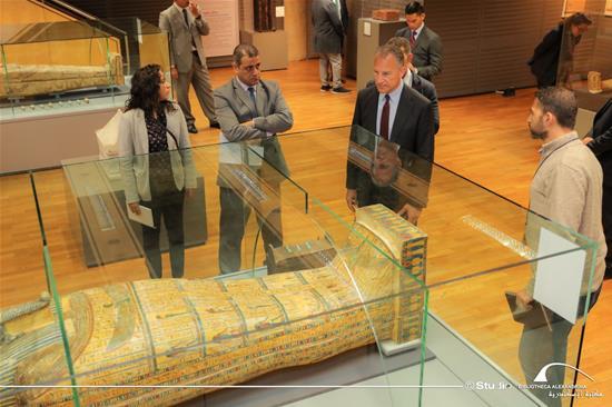 زيارة السفير الأمريكي بمصر جوناثان كوهين لمكتبة الإسكندرية - 15 يناير 2020