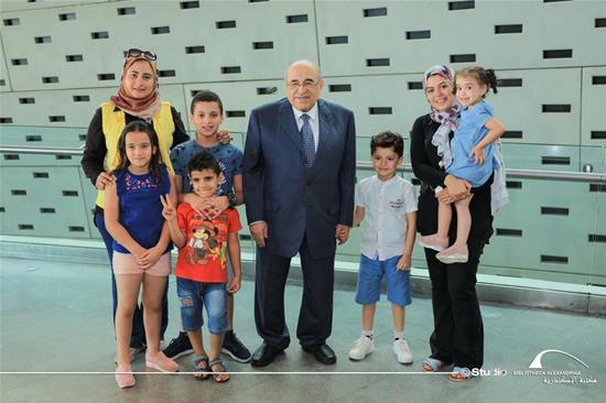 Le directeur de la BA reçoit les familles « El-Mansi » et « El-Shabrawy » -  14 septembre 2020