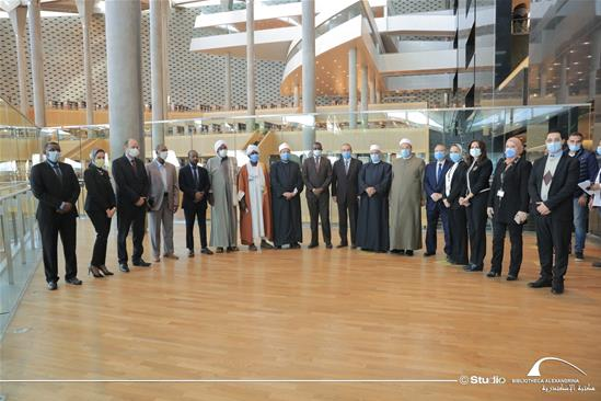 The Sudanese Minister of Awqaf Nasr Eldin Mofarih in a Visit to the BA – 24 December 2020