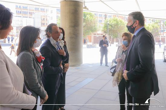 The German Ambassador's Visit to the BA – 1st of April 2021