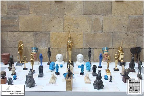 Exposition des maquettes archéologiques