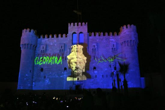 Legendary Cleopatra: A 3D Show at the Qaitbey Fort