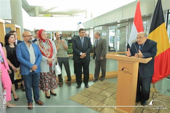 "The BA Inaugurates the ""150 Years of Belgian Royal Visits to Egypt"" Exhibition"