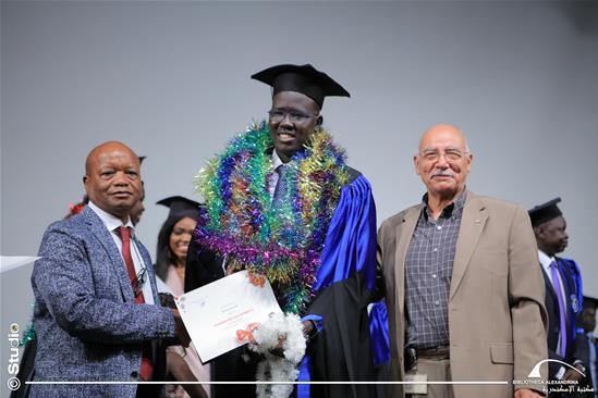 Cérémonie de fin d'études des étudiants africains