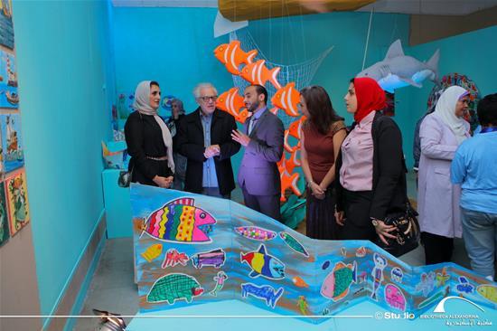 The workshop Exhibition
