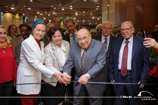 """Collection of Sheikh Mohamed Abdel-Rahman: Masterpieces of Arabic Calligraphy Art in Egypt"" Exhibition"