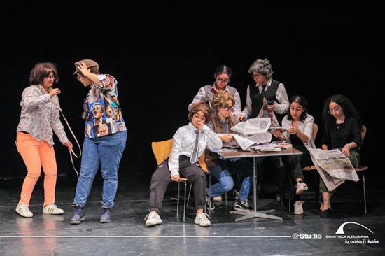 """عرض مسرحي: """"سكوت هنصور""""  - 5 ديسمبر 2020"""