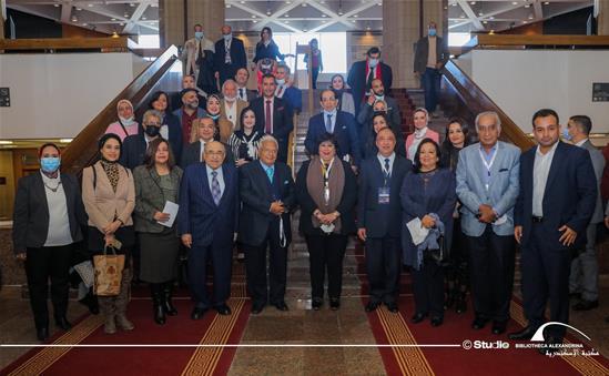 D<sup>r</sup> Mostafa El-Feki inaugure la célébration du centenaire de Dr Tharwat Okasha à la BA - 1<sup>er</sup>avril 2021