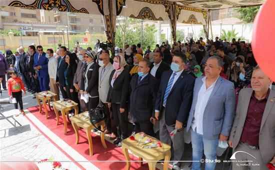 مكتبة الإسكندرية تحتفل بيوم اليتيم بقصر خديجة بحلوان- 8 أبريل 2021