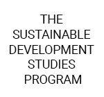 The Sustainable Development Studies Program
