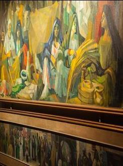 مجموعة رعاية النمر وعبد الغني أبو العينين: الفن الشعبي العربي