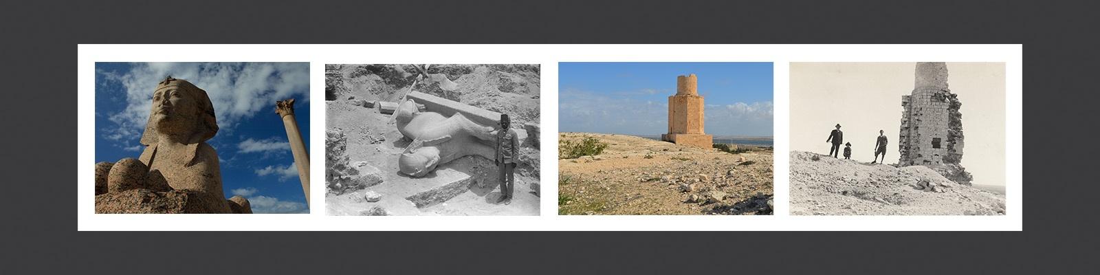 """""""إعادة اكتشاف آثار الإسكندرية: الإسهامات الإيطالية"""""""