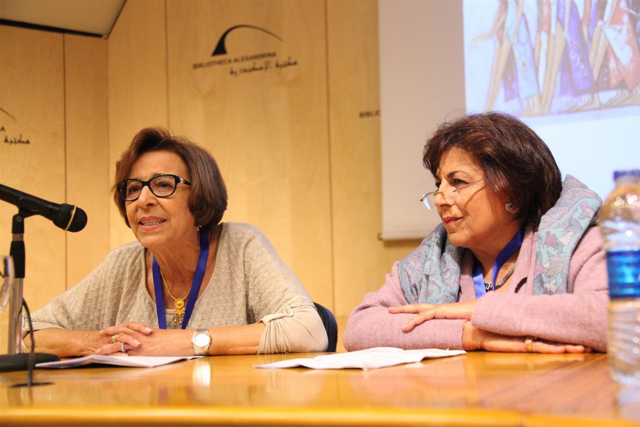 Dr. Magda El-Nokaly and Dr. Nagla Nadouri