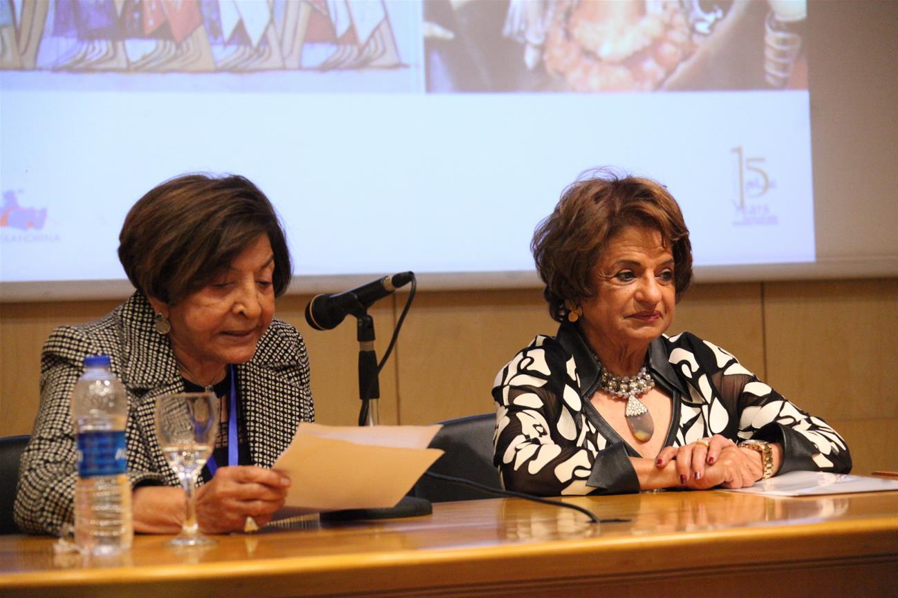 Dr. Mona Makram Ebeid and Dr. Hoda Badran