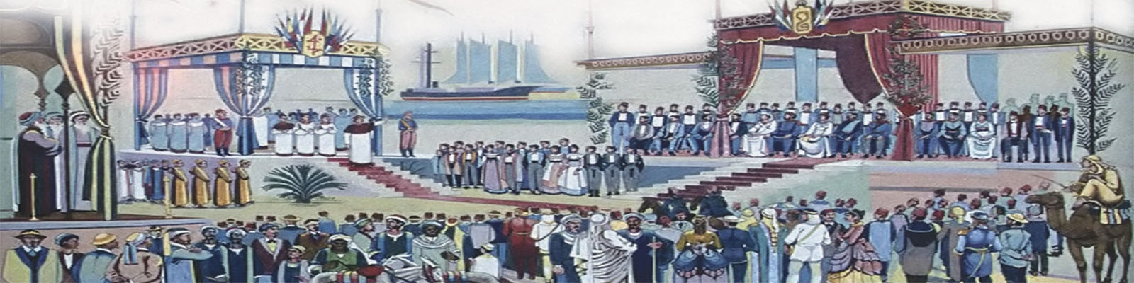 The BA Celebrates the 150<sup>th</sup> Anniversary of the Inauguration of the Suez Canal