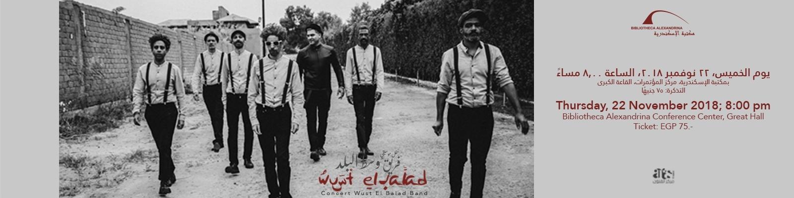Concert: Wust el Balad Band