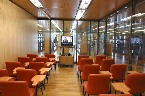 Salle pour les visites de groupe