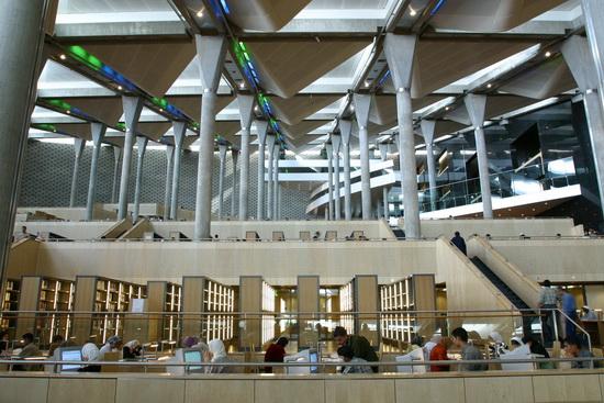 Piliers de la Bibliothèque