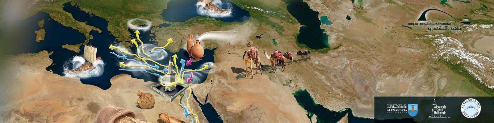 « Alexandrie et la mer à l'époque hellénistique et romaine » dans une conférence à la BA